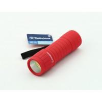 Фонарь светодиодный 3W  COB WF87 красный