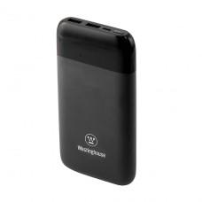 Универсальная мобильная батарея (повербанк)  10 000 mAh 3.7V на 2 выхода USB 2.1 A = 5V каждый