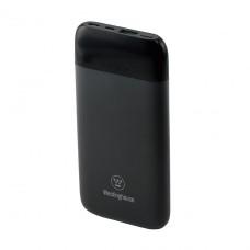 Универсальная мобильная батарея (повербанк) 10 000mAh 3.7V c 2 портами усиленной зарядки Micro USB и Type-C