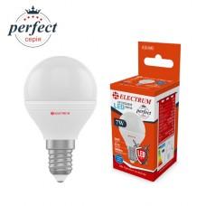 Лампа светодиодная шар ELECTRUM 7W E14 4000K A-LB-1863