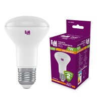 Лампа светодиодная рефлекторная R63 7W E27 3000K 18-0055