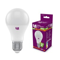 Лампа светодиодная стандартная B60 PA10S 10W E27 3000K 18-0176