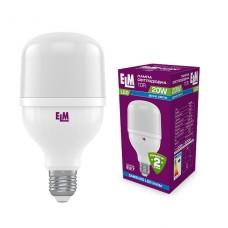 Лампа светодиодная промышленная PA20S TOR 20W E27 6500K алюмопластиковый корп. 18-0188