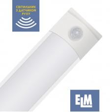 Светильник накладной светодиодный с рассеивателем и датчиком движения ELM Divo S 36W 6500К 26-0102