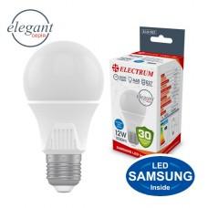Лампа светодиодная стандартная ELECTRUM 12W E27 4000K A-LS-1921