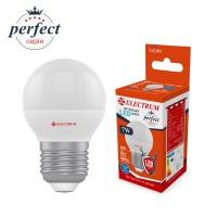 Лампа светодиодная шар ELECTRUM 7W E27 4000K A-LB-1865