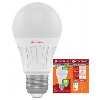 Лампа светодиодная стандартная LS-V10 12W E27 3000K алюмопл. корп. A-LS-1889