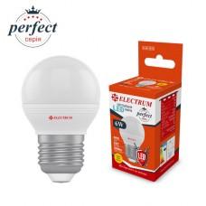 Лампа светодиодная шар LB-32/1 6W E27 3000K алюмопласт. корп. A-LB-1873