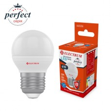 Лампа светодиодная шар ELECTRUM 6W E27 4000K A-LB-1874