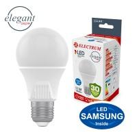 Лампа светодиодная стандартная A60 LS-33 Elegant 11W E27 4000K алюмопл. корп. A-LS-1435