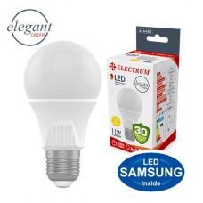 Лампа светодиодная стандартная ELECTRUM 11W E27 3000K  A-LS-1434