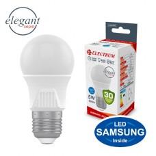 Лампа светодиодная стандартная ELECTRUM 5W E27 4000K  A-LD-1917