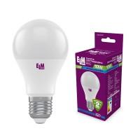 Лампа светодиодная стандартная B60 PA10S 10W E27 4000K алюмопласт. корп. 18-0177