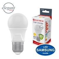 Лампа светодиодная стандартная ELECTRUM 5W E27 3000K A50 A-LD-1916