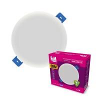 Светильник светодиодный встраиваемый Grace 9W 6500К IP20 белый 26-0064