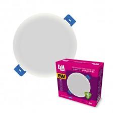 Светильник потолочный встраиваемый светодиодный круглый  ELM 9Вт 6500К Grace IP20 26-0064