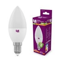 Лампа светодиодная свеча PA10 5W E14 3000K алюмопластиковый корп. 18-0154