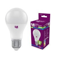 Лампа светодиодная стандартная B60 PA10S 12W E27 4000K алюмопласт. корп. 18-0179