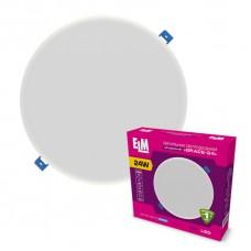 Светильник светодиодный встраиваемый Grace 24W 4000К IP20 белый 26-0093