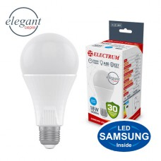 Лампа светодиодная стандартная ELECTRUM 18W E27 6500K  A-LS-1453