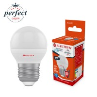 Лампа светодиодная шар ELECTRUM 8W E27 4000K A-LB-1431
