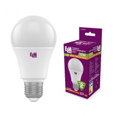 Лампа светодиодная стандартная ELM 12W  E27 3000K 18-0094