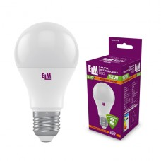 Лампа светодиодная стандартная ELM 12W E27 3000K 18-0178