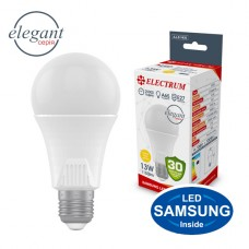 Лампа светодиодная стандартная A65 LS-33 Elegant 13W E27 3000K алюмопл. корп. A-LS-1436