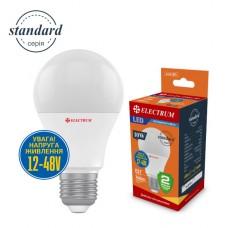 Лампа светодиодная низковольтная ELECTRUM 10W 12-48V E27 4000K A-LS-1891