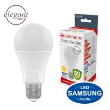 Лампа светодиодная стандартная ELECTRUM 15W E27 3000K A-LS-1438