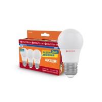Комплект ламп светодиодных стандартных ELECTRUM 6W E27 4000K 3шт. A-LD-1854