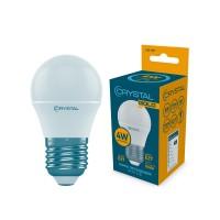 Лампа светодиодная шар  4W E27 3000K G45-007