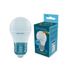 Лампа светодиодная шар 4W E27 4000K CRYSTAL GOLD G45-008
