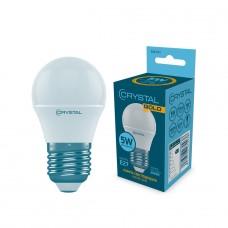 Лампа светодиодная шар 5W E27 4000K CRYSTAL GOLD G45-012
