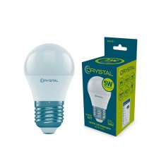 Лампа светодиодная шар 5W E27 3000K CRYSTAL G45-021