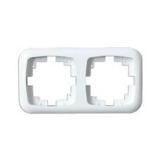 Рамка двухместная ELECTRUM Legend D-FD-1260