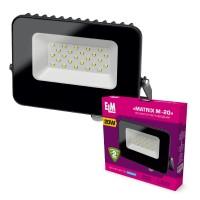 Прожектор светодиодный Matrix M-20-41 20W 6500К  26-0038