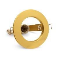 Светильник точечный неповоротный золото B-IS-0427