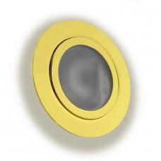 Светильник точечный галогенный. ELECTRUM 815 мебельный золотой - B-HS-0543