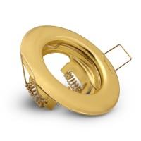 Светильник точечный неповоротный золото B-HS-0812