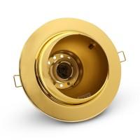 Светильник точечный поворотный золото B-IS-0447