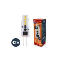 Лампа светодиодная капсула ELECTRUM 2W G4 12V 3000K силиконовый корпус A-LC-0907