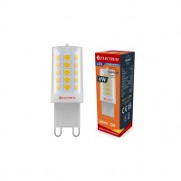 Лампа светодиодная капсула ELECTRUM 4W G9 4000K  керамический корпус A-LC-1896