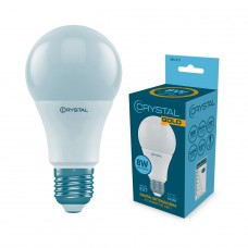 Лампа светодиодная 8 W E27 CRYSTAL GOLD (4000K)  A60-013