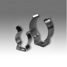 Скоба крепления лампы Т5 (ламподержатель 16 мм) стальная, пружинная ELM Q-3103